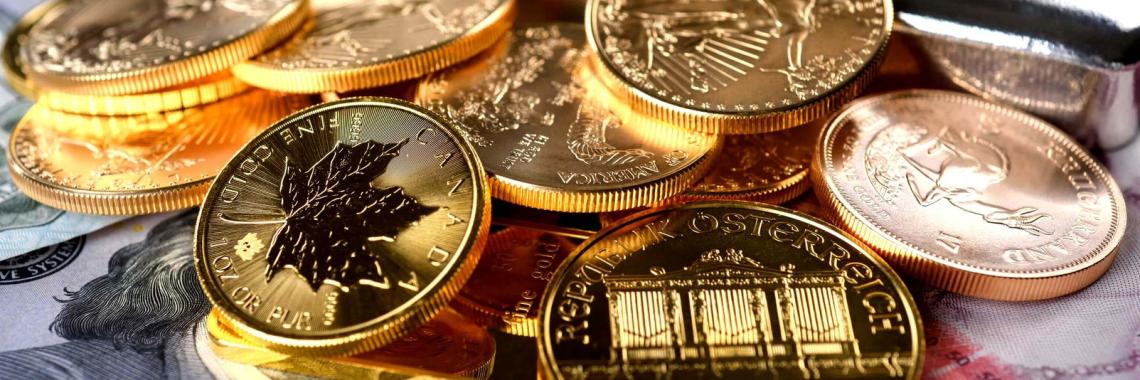 Золотые Инвестиционные монеты