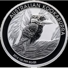 Австралийский Кукабарра; 1 Dollar; 1oz